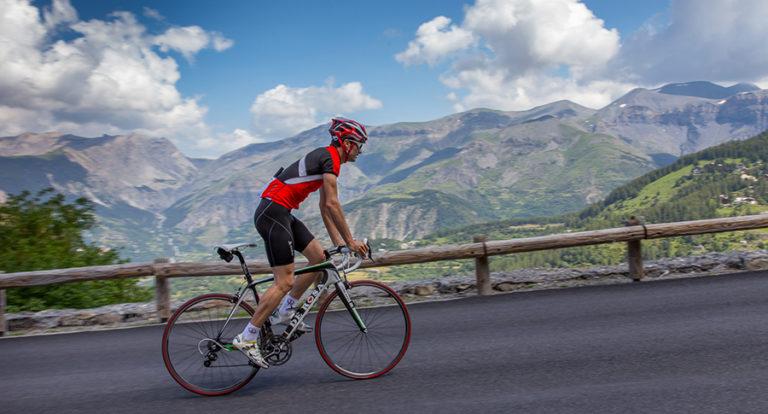 La rando-cyclo à Guillaumes , territoire du vélo