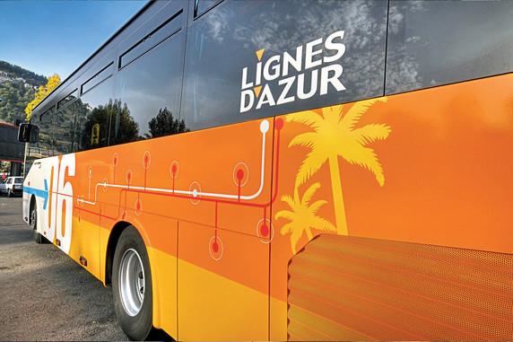 La Ligne Azur 790 Guillaumes-Nice (BUS)