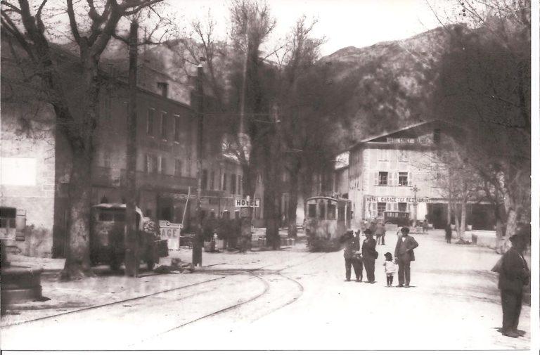 Le tramway à Guillaumes