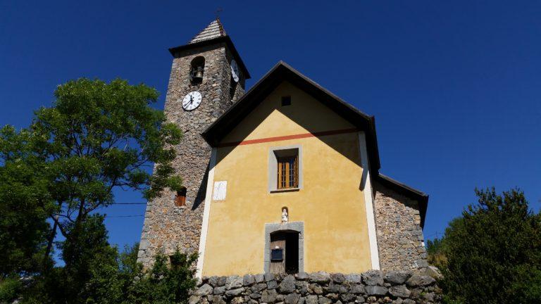 L'église Baroque Saint-Roch de Bouchanières