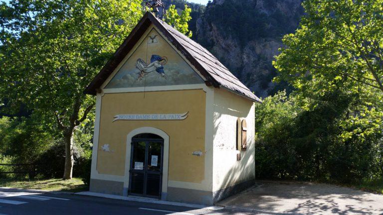 Chapelle ND de la Paix de Guillaumes.